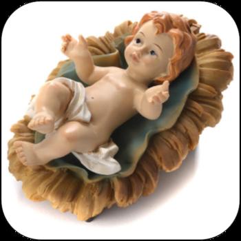 Sunday of Joy - Blessing of Baby Jesus Crib figure.